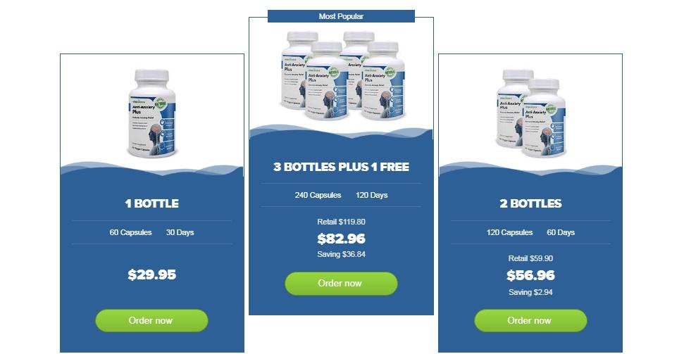 Vita Balance Anti-Anxiety Plus package