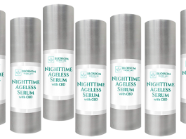 Blossom Nighttime Ageless Serum With CBD