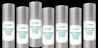 Blossom Nighttime Ageless Serum With CBD